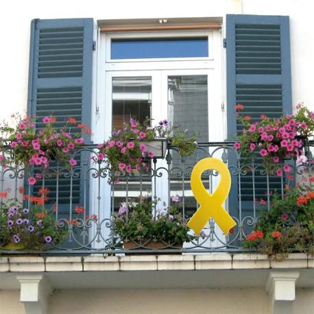 Llaç groc balcó