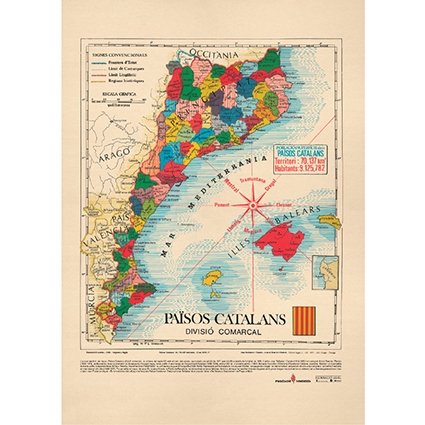 Mapa Països Catalans