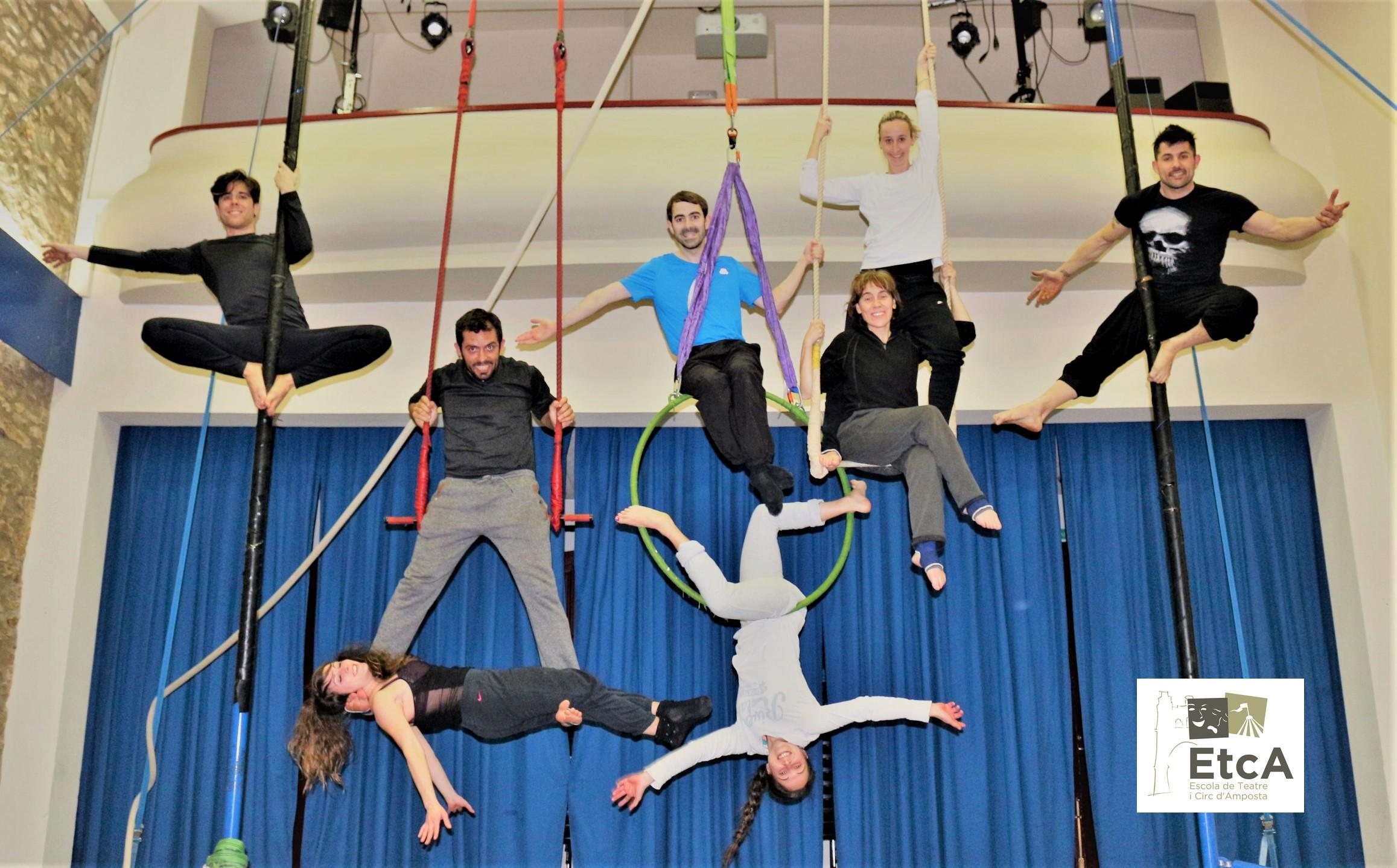 Dia Muncial del Circ a Amposta - Òmnium Cultural